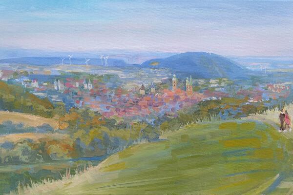 Landschaft Goslar - Kunstgalerie von Marina Lukjanowa