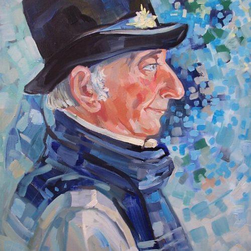 Portrait Lord - Künstlerin Marina Lukjanowa
