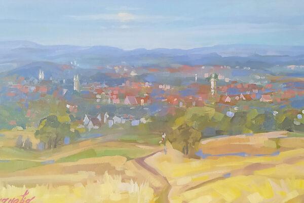 Panorama Goslar. Kunst Marina Lukjanowa Romanowa