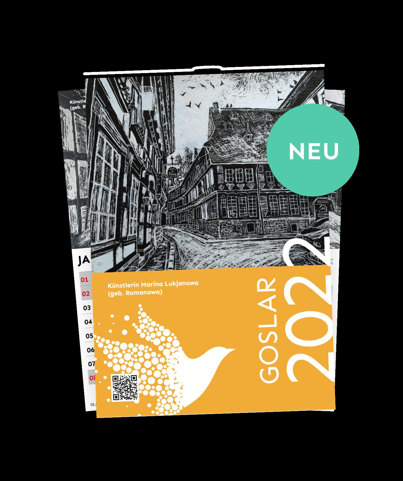 Wandkalender 2022 Goslar